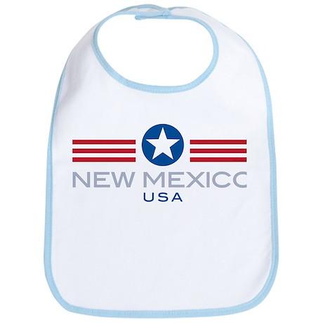New Mexico-Star Stripes: Bib