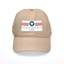New Mexico-Star Stripes: Baseball Cap