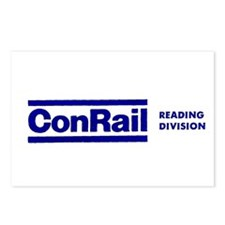 Conrail Reading Division Postcards (Package of 8)