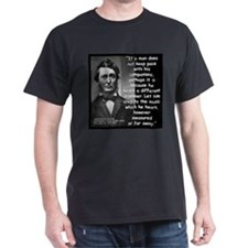 Thoreau Drummer Quote 2 T-Shirt