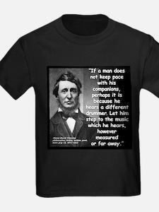 Thoreau Drummer Quote 2 T