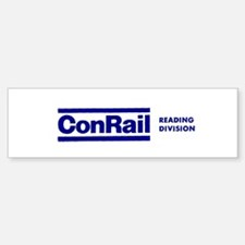 Conrail Reading Division Bumper Bumper Bumper Sticker