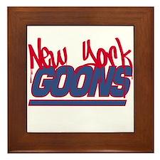 New York Goons Framed Tile