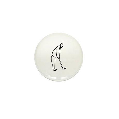 Golf Mini Button (10 pack)