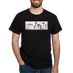 I Love Sports Dark T-Shirt