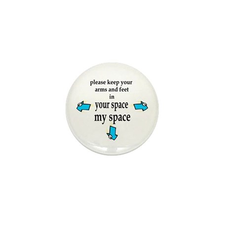 My Space Mini Button (10 pack)