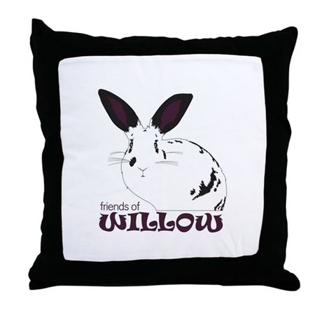 Friends of Willow Throw Pillow