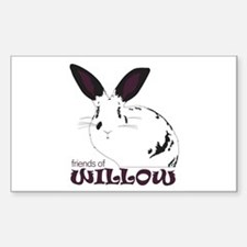 Friends of Willow Decal