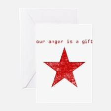 YOUR ANGER IS A GIFT Greeting Cards (Pk of 10)