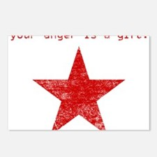 YOUR ANGER IS A GIFT Postcards (Package of 8)