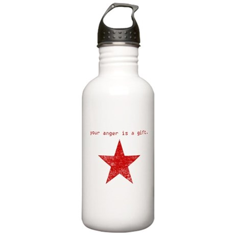 YOUR ANGER IS A GIFT Stainless Water Bottle 1.0L