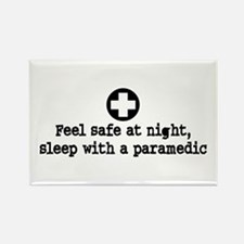 Feel Safe at Night Sleep with a Paramedic Rectangl