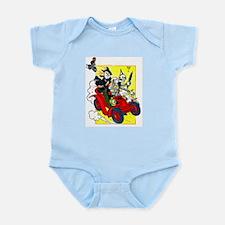 Denslow - Scarecrow & Tin Man Infant Creeper