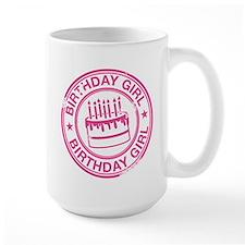 Birthday Girl Hot Pink Mug