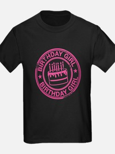 Birthday Girl Hot Pink T