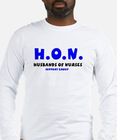 HUSBANDS OF NURSES FRONT1.JPG Long Sleeve T-Shirt