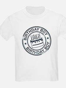 Birthday Boy Dark Blue T-Shirt