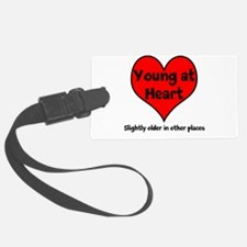 Young At Heart Luggage Tag