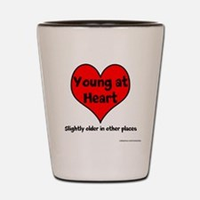 Young At Heart Shot Glass