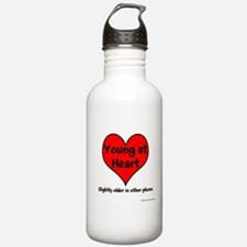 Young At Heart Sports Water Bottle