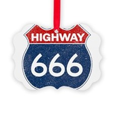 HIGHWAY 666 Ornament