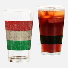 Hungary Flag Drinking Glass