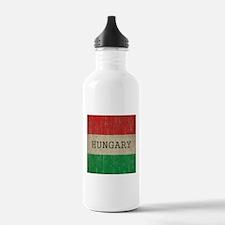 Vintage Hungary Flag Water Bottle