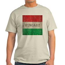 Vintage Hungary Flag T-Shirt