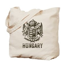 Vintage Hungary Coat Of Arms Tote Bag