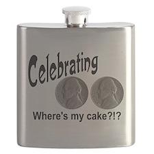 55 Cake?!?!? Flask