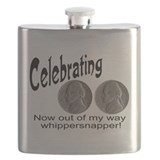 Double nickel birthday Flask Bottles