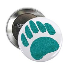 DIMPLED GREEN BEAR PAW Button