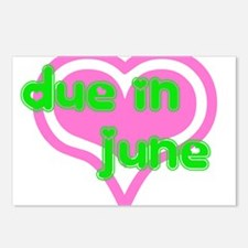 Due in June Postcards (Package of 8)