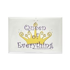 Queen of Everything Rectangle Magnet