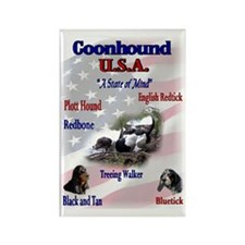 Coonhound Gifts Rectangle Magnet (10 pack)