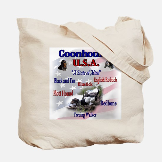 Coonhound Gifts Tote Bag