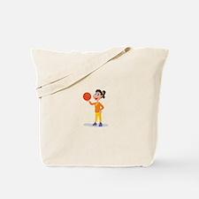 Basketball Tote Bag