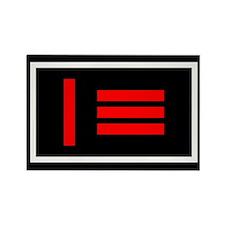 Master/slave flag Rectangle Magnet