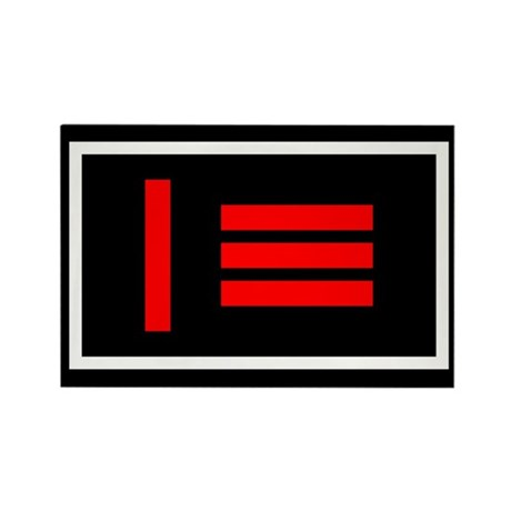 Master/slave flag Rectangle Magnet