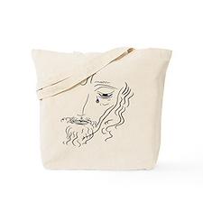Jesus Wept (rainbow tear) Tote Bag
