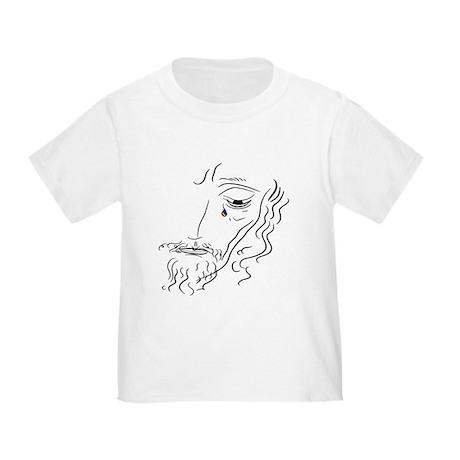 Jesus Wept (rainbow tear) Toddler T-Shirt
