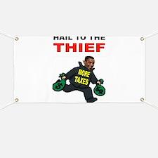 OBAMA THIEF Banner