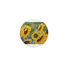 Sunflowers Mini Button (100 pack)