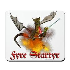 "Dragon Lampworker - ""Fyre Sta Mousepad"