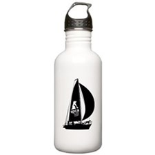 spca sailboat logo Water Bottle