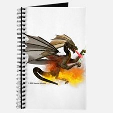 Dragon Lampworker - Side View Journal