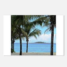 Nassau Bahamas Palms and Lighthouse Postcards (Pac