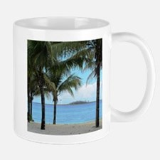 Nassau Bahamas Palms and Lighthouse Mug