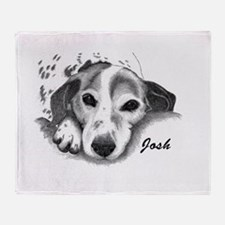 JANINE -JOSH d.jpg Throw Blanket