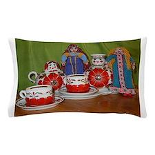 Russian Doll Tea Time Pillow Case